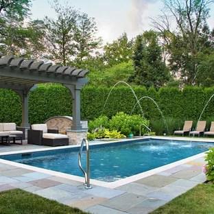 75 beautiful backyard pool pictures