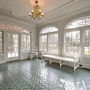 sunroom floor tile houzz