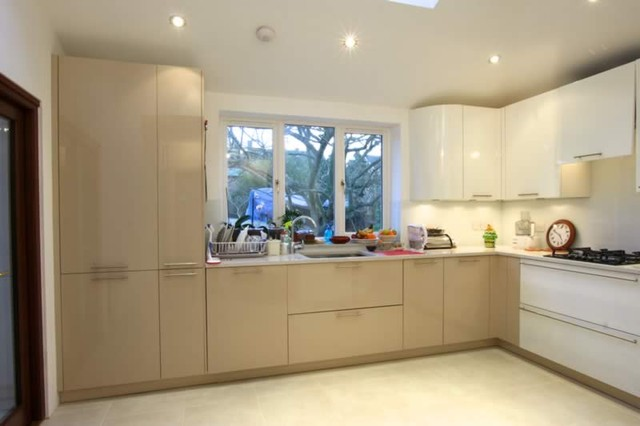 Small Modern Kitchen Design L Shape
