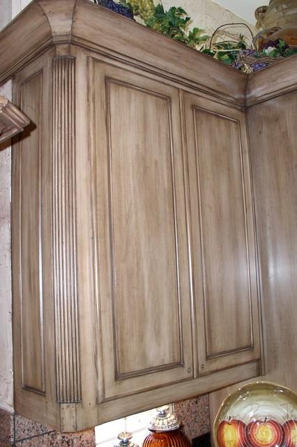 Kitchen Cabinets Before Amp After Mediterranean Kitchen
