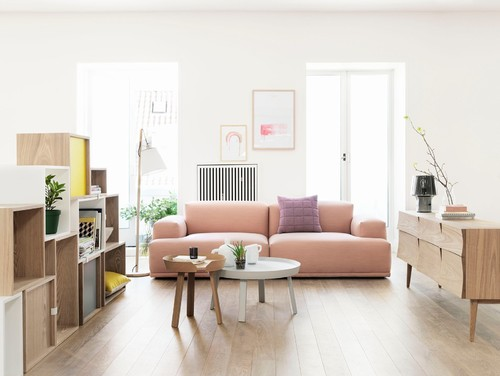 Living room with Muuto collection