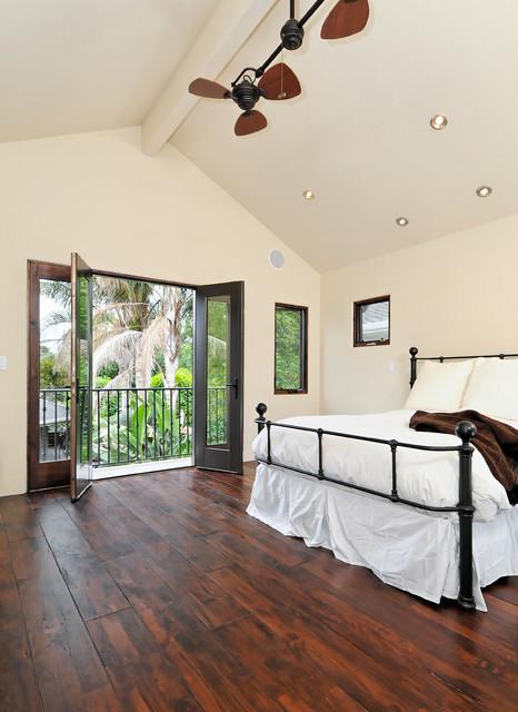 Willow Glen Spanish Style House Mediterranean Bedroom