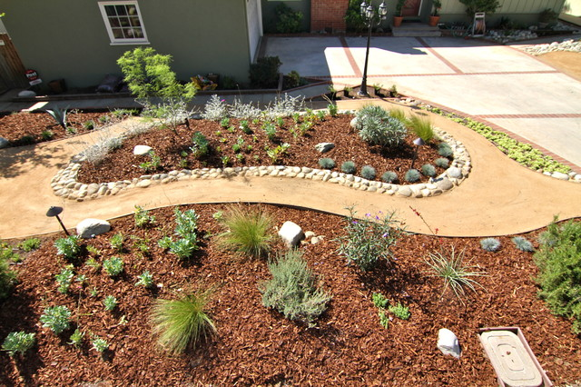 Grassless - Modern - Landscape - Los Angeles - by Dattola ... on Grassless Garden Ideas  id=95971