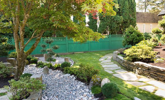 Backyard Zen Garden - Asian - Landscape - Vancouver - by ... on Zen Garden Backyard Ideas id=65853