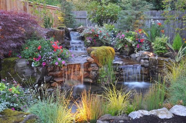 Beautiful Backyard - Eclectic - Landscape - Portland - by ... on Beautiful Backyard Landscaping  id=46389