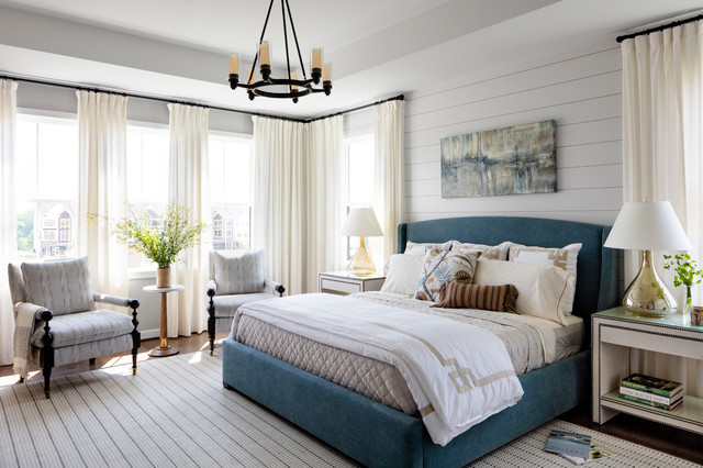 Modern Farmhouse Master Bedroom - Farmhouse - Bedroom - DC ...