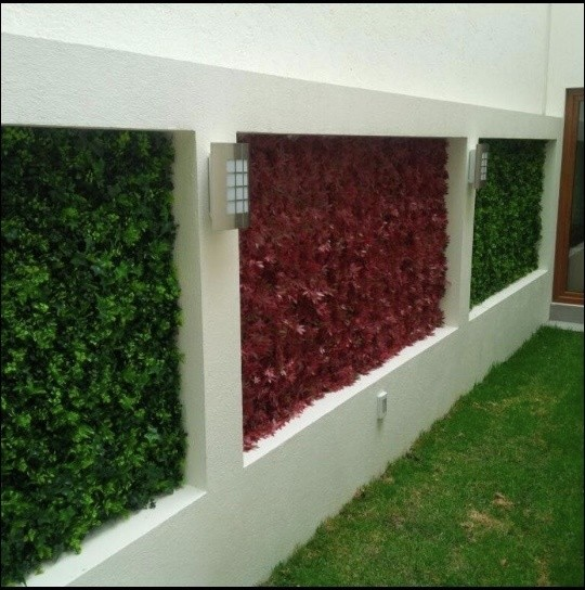 vertical garden wall panel Vertical Garden Wall, Outdoor Art | Artificial Hedge