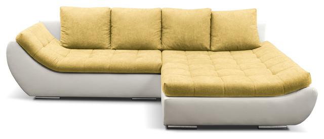 hugo sectional sleeper sofa right corner