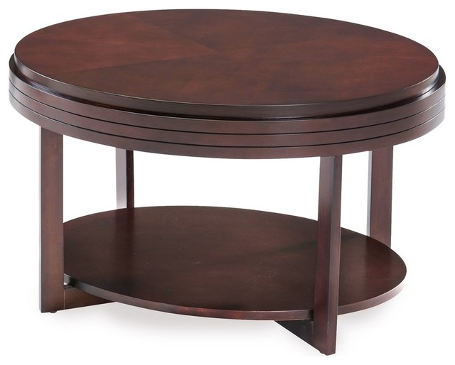 Oval Condo And Apartment Coffee Table