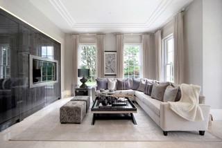 Grey Cream Living Room Ideas And Photos Houzz