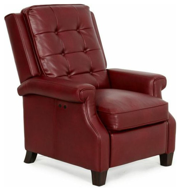 Barcalounger Monroe Power Recliner, Wine - Traditional ... on Barcalounger Outdoor Living id=30766