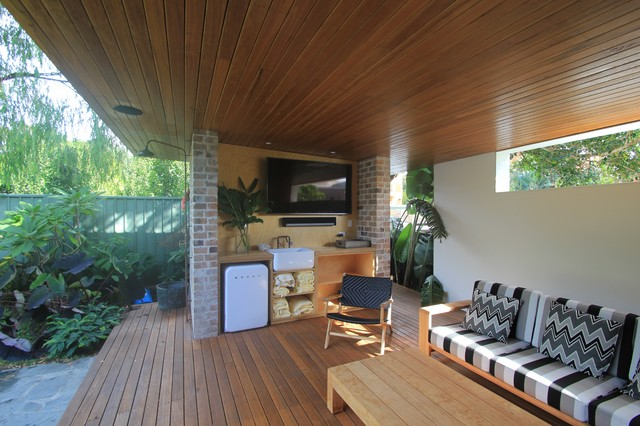 Drummoyne House contemporary-deck