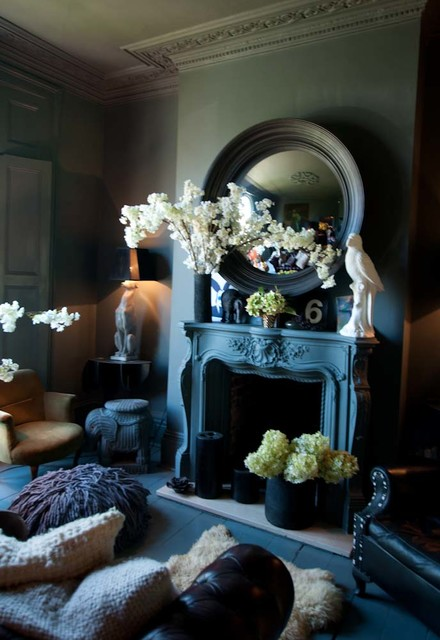 Abigail Ahern Interiors Eclectic Living Room London By Abigail Ahern