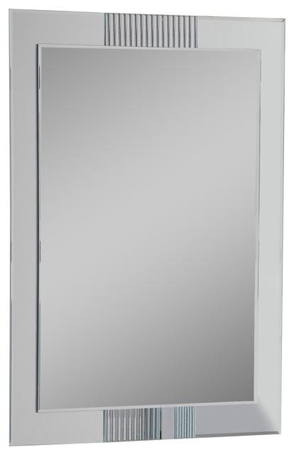 Decor Wonderland Iso Modern Bathroom Mirror
