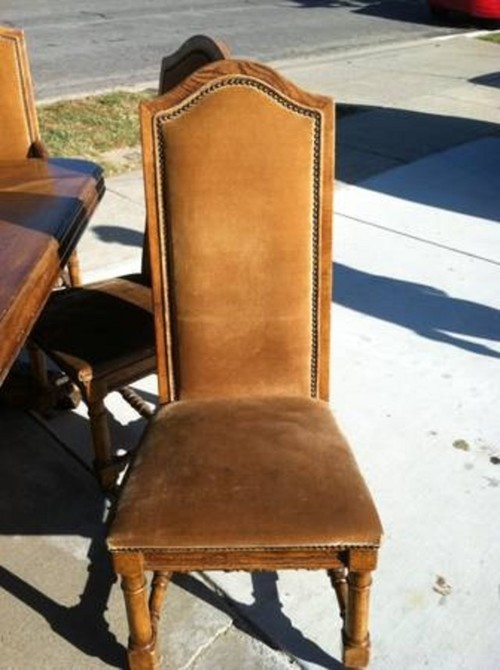 What Dining Chairs For This Monastery Table
