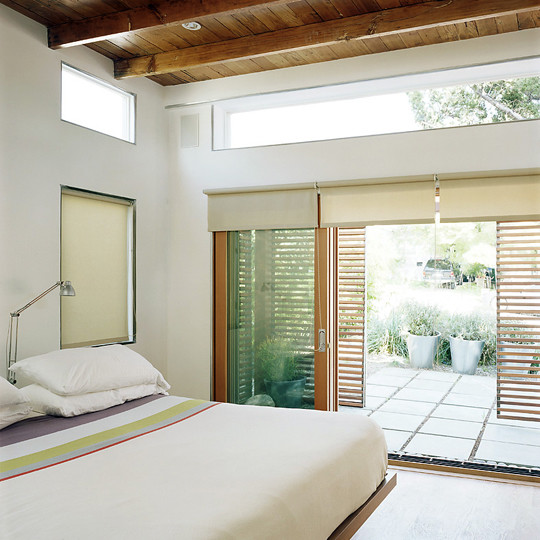 Green Idea A Zen Inspired Bedroom Apartment Therapy Re Nest