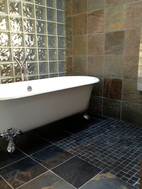 Tubs in Showers - Vancouver Wet Room Designs - Traditional ... on Wet Room With Freestanding Tub  id=71966