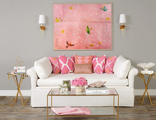 High Fashion Home Fall 2014 transitional-living-room