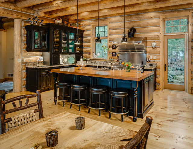 Wilderness Softened Rustic Kitchen Other By BCD