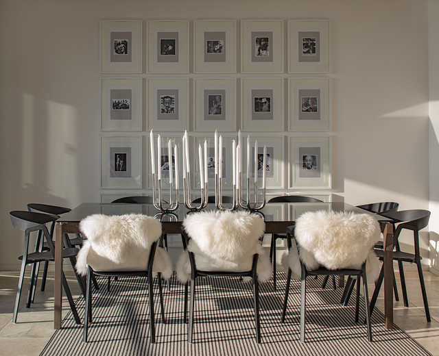 One Central Park Penthouse - Chippendale Sydney contemporary-dining-room