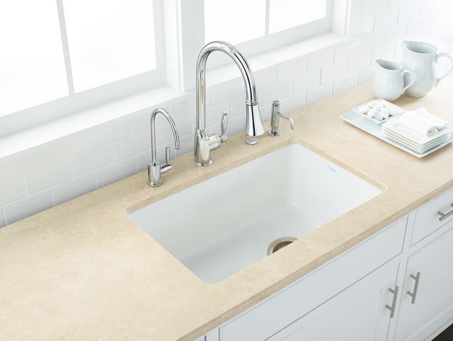 ROHL Allia Fireclay Single Bowl Undermount Kitchen Sink
