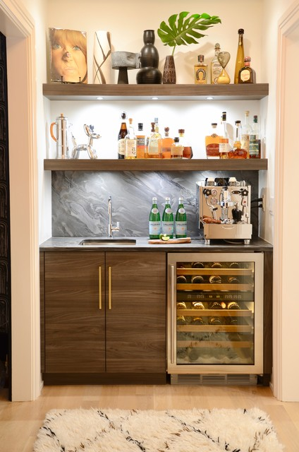 BROOKLYN GIRL contemporary-home-bar