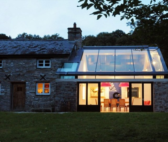 Farmhouse Extension Welsh Marches Transitional Exterior