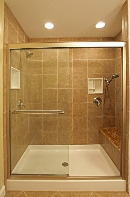 Small Bathroom Ideas - Traditional - Bathroom - DC Metro ... on Small Bathroom Ideas With Shower id=85996
