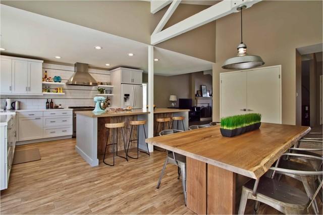 Rustic Modern transitional-kitchen