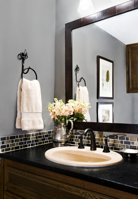 Powder Bath Remodel Traditional Powder Room Austin