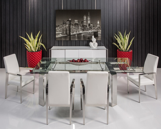 The Naked Dining Table - Modern - Dining Room - Miami - by ...