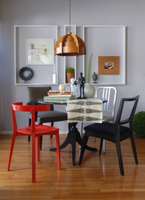 MJ Lanphier eclectic-dining-room