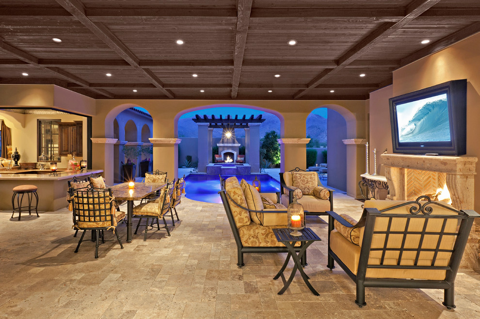 Silverleaf Arcadia - Mediterranean - Patio - Phoenix - by ... on Arcadia Backyard Designs id=78791