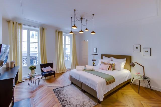 Chambre Rose Verte Jaune Scandinave Chambre Paris Par MEERO
