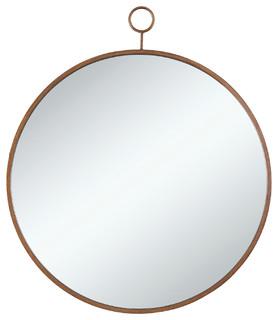 Coaster Mirror, Gold