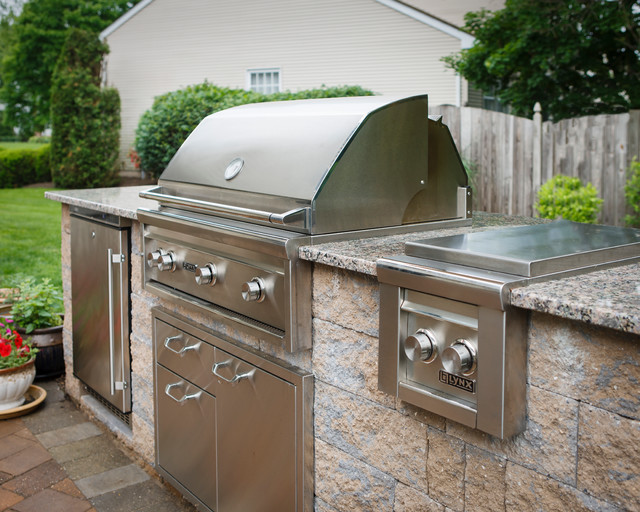 Outdoor Grilling Station - Traditional - Patio - Other ... on Patio Grill Station  id=97531