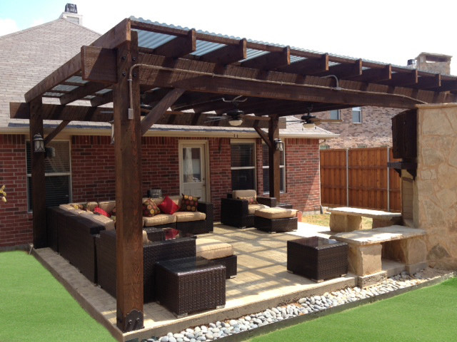 patio pergola project 310 12x12 with