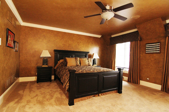 Traditional French Country Inspired Traditional Bedroom Chicago By Style 1519