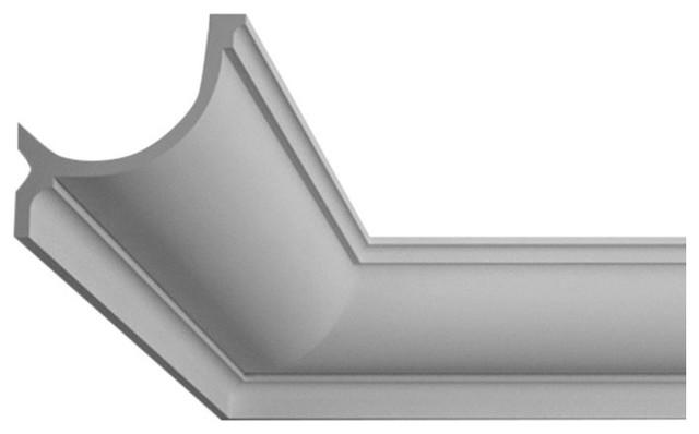 decorative polyurethane crown moulding for indirect lighting flexible moulding