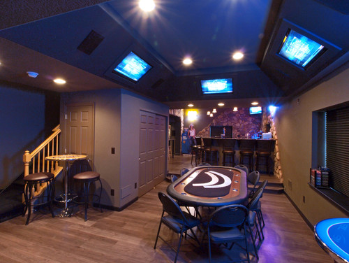 Bachelor Pad Basement
