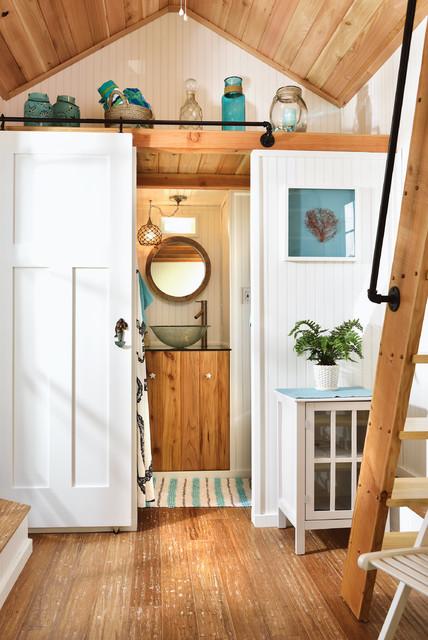 beach tiny house - bathroom - beach style - bathroom - portland