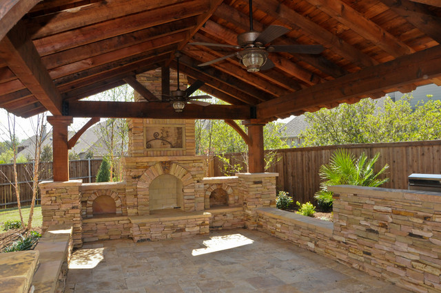 Overhead Structure/Grilling Station/Fireplace on Patio Grill Station  id=57610