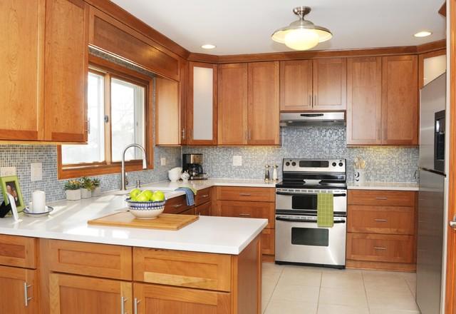 Blue Amp White Modern Country Kitchen Modern Kitchen Chicago By KN Interiors Inc