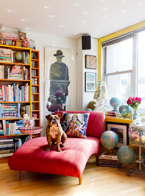 My Houzz: Jeanie Engelbach eclectic-living-room
