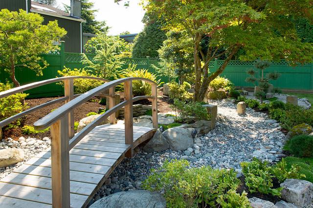 Backyard Zen Garden - Asian - Landscape - Vancouver - by ... on Zen Garden Backyard Ideas id=77019