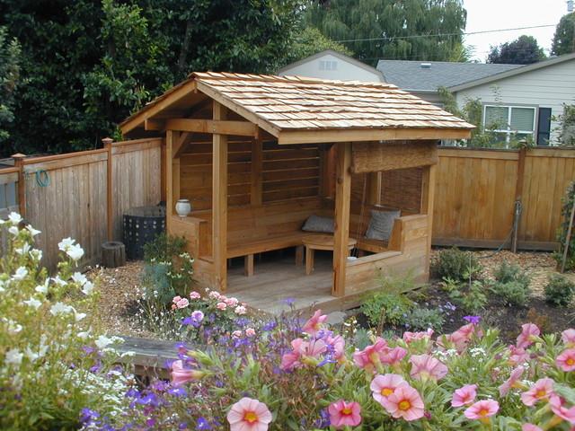 A Garden Retreat - Eclectic - Landscape - Portland - by ... on Backyard Retreat Ideas id=55572