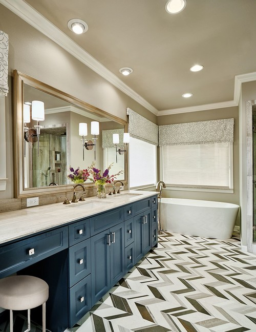 Custom Vanities Start In The $2000 Range And Go Up. Consider Painting Your  Vanities If They Function Well And Are Up To Date. Like This Bathroom  Design From ...