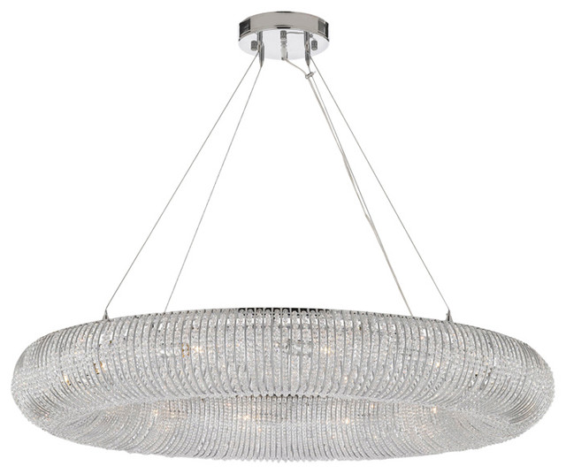 Crystal Halo Chandelier Modern Contemporary Lighting Floating Orb Chandeliers