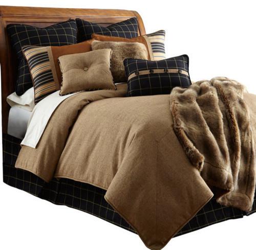 ashbury tan bedding set luxury cabin bedding queen