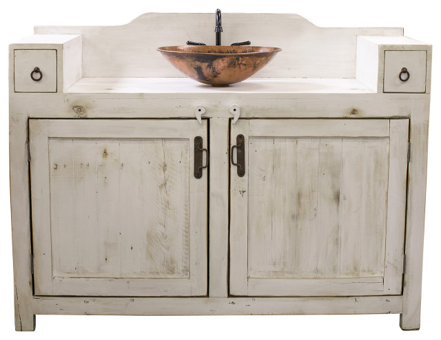 farmhouse bathroom vanity 48 inches